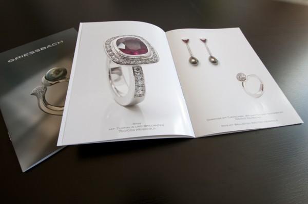 Schmuck-Katalog Printdesign