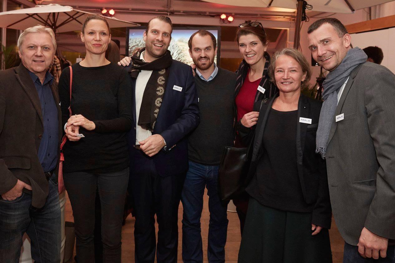 Einige Mitglieder des AGAVE Networks beim Kick-Off Event in Berlin.