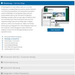 Aufklappbare Bereiche auf Website