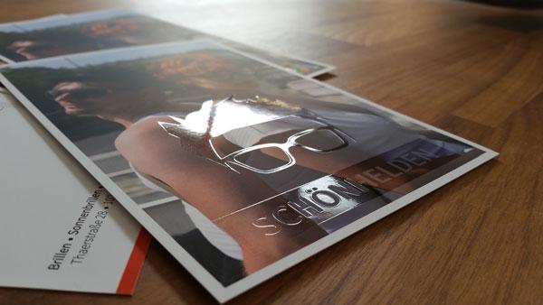 Partieller UV-Lack für Flyer & Co als Druckveredelung der besonderen Art