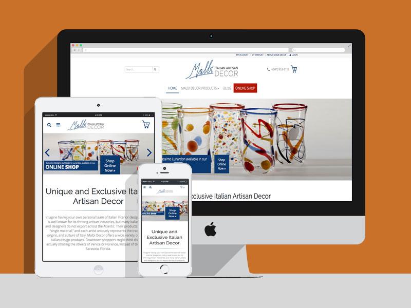 Malbi Decor WordPress Online Shop   WordPress Agentur   WooCommerce ...