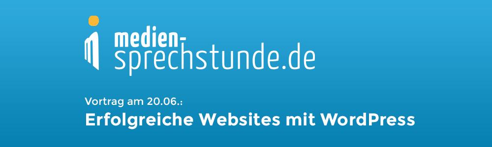 Kostenloser Vortrag von MEWIGO bei der medien-sprechstunde am 20.06. in Berlin