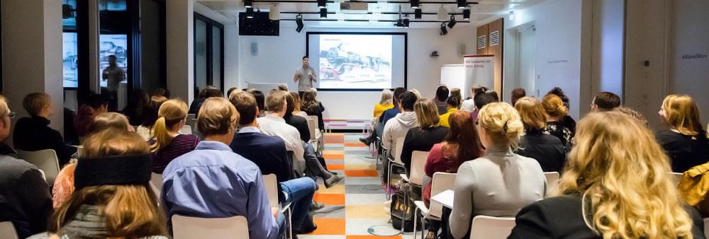 MEWIGO Geschäftsführer Diego Hinz bei Google Fachkonferenz in Berlin