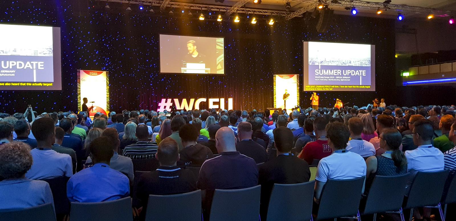 Rückblick auf's WordCamp Europe 2019 in Berlin